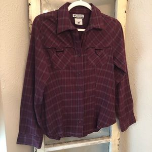 Columbia Flannel Shirt Size Small